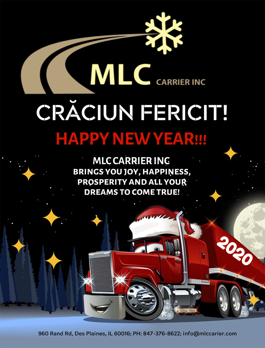MLC Carrier Inc.: CRĂCIUN FERICIT & HAPPY NEW YEAR!