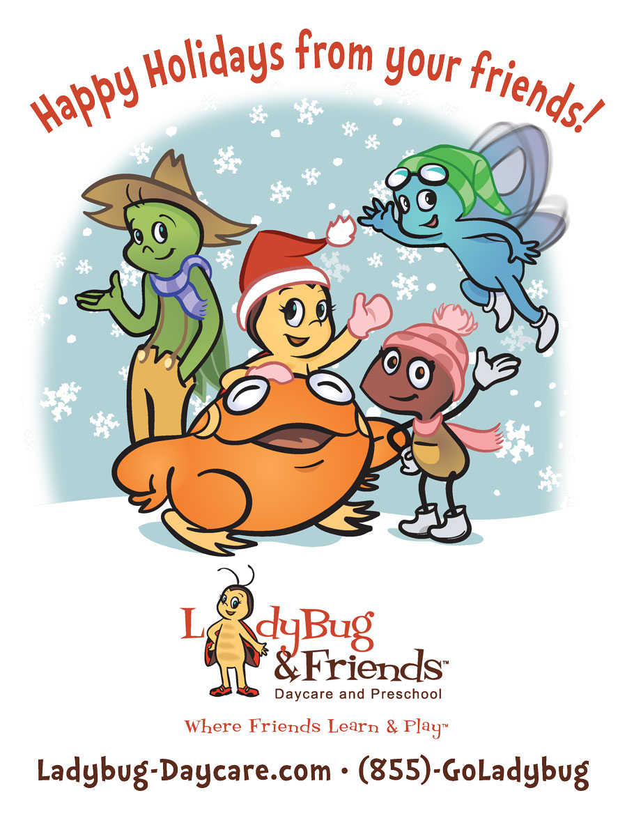 LadyBug & Friends: Happy Holidays from your friends!