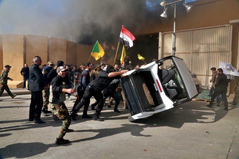 Mike Pompeo: Atacul împotriva ambasadei SUA la Bagdad este opera unor terorişti
