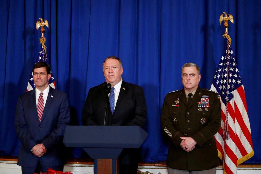 În 2017, Mike Pompeo i-a trimis o scrisoare de avertisment generalului iranian Soleimani