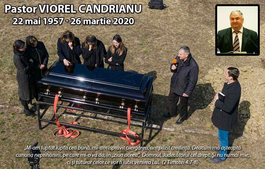 IN MEMORIAM: Pastor VIOREL CANDRIANU (1957-2020); suspect de coronavirus (reportaj+video)