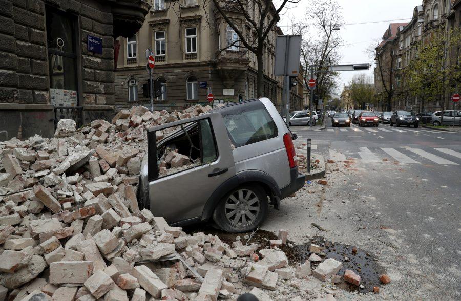 Croaţia: Un seism puternic a zguduit Zagrebul, producând importante pagube materiale