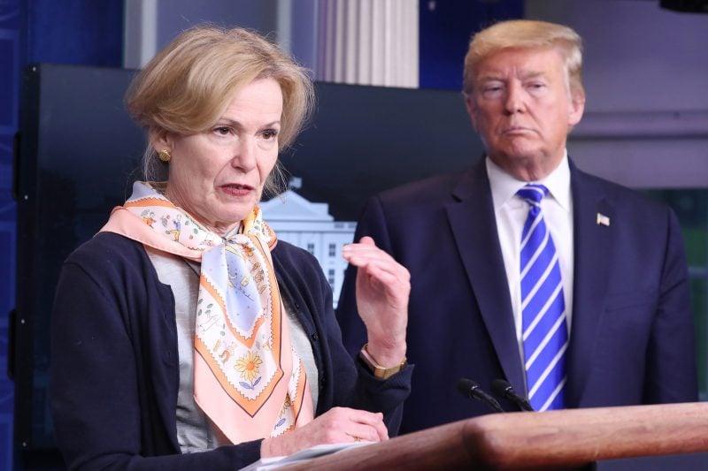 Dr. Deborah Birx vine în apărarea președintelui Trump, acuzând mass-media de practici periculoase