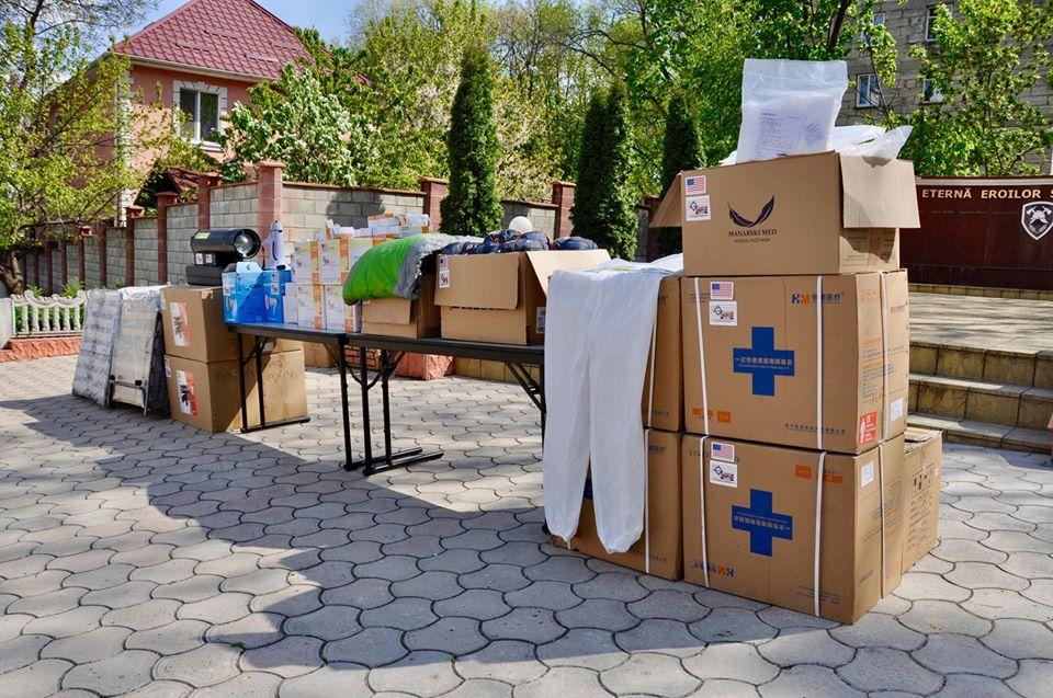 SUA donează echipamente de protecție Ministerului Afacerilor Interne de la Chișinău