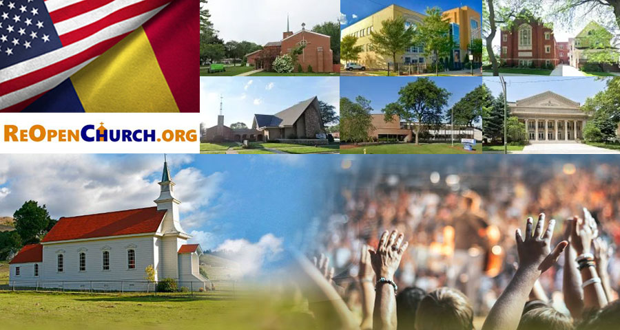 6 Romanian-American churches in Chicago say ENOUGH! We WILL Re-Open churches on Sunday, May 10, 2020