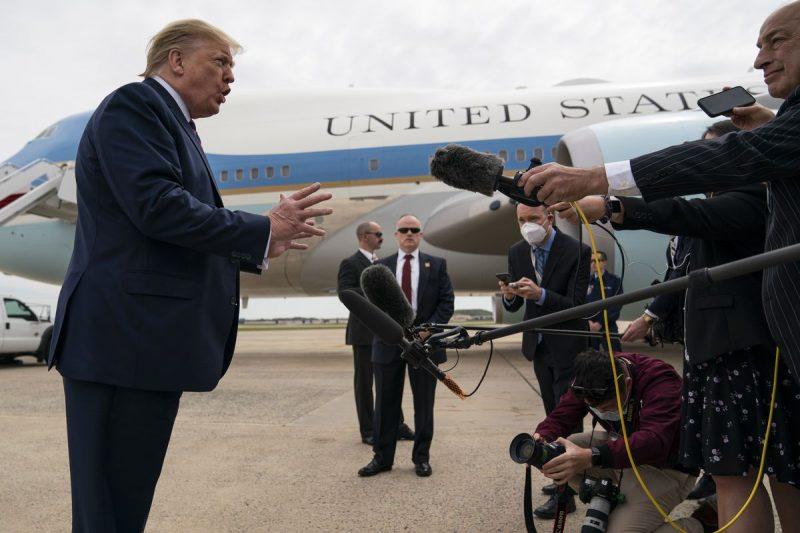 Trump: SUA vor prezenta un raport privind originea coronavirusului