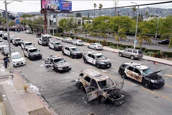 STATELE UNITE, CU BUNE, CU RELE… În a doua săptămână de violențe. Nu este răscoală, este o acțiune terorist – anarhistă organizată.