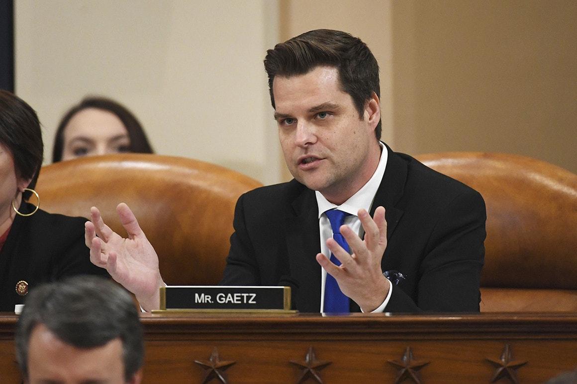 Congressmanul Matt Gaetz (R-FL) depune plângere penală împotriva lui Mark Zuckerberg pentru cenzurarea conservatorilor