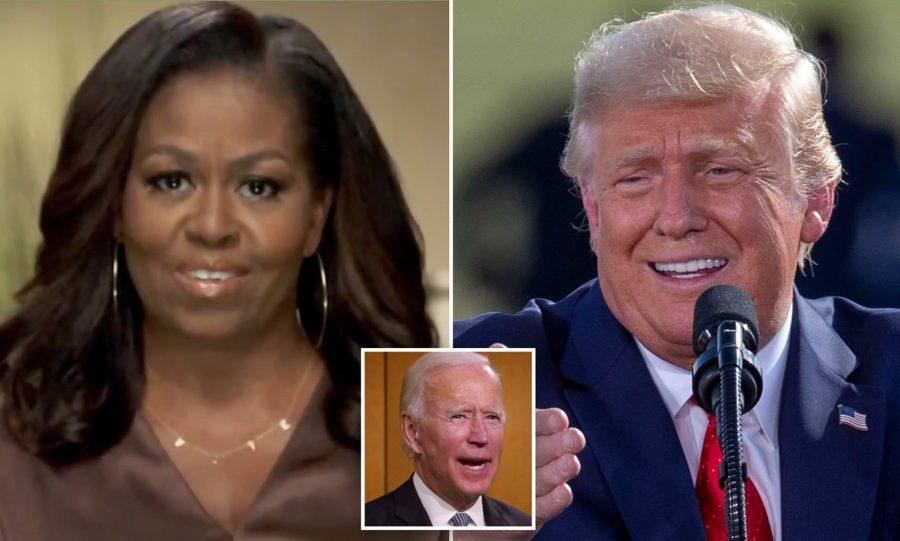 """Trump, replică dură pentru Michelle Obama: """"Dacă nu era eșecul președintelui Obama, nu ajungeam președinte"""""""