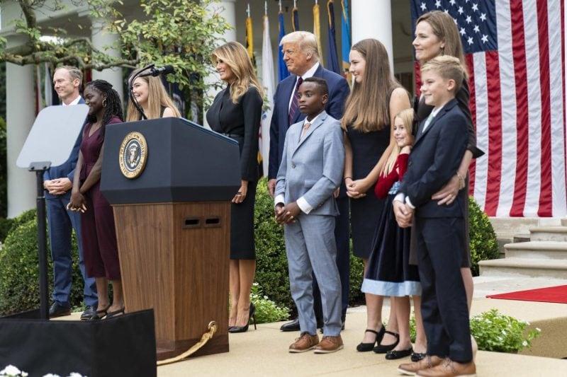 Declarațiile campaniei Trump privind nominalizarea lui Amy Coney Barrett la Curtea Supremă SUA