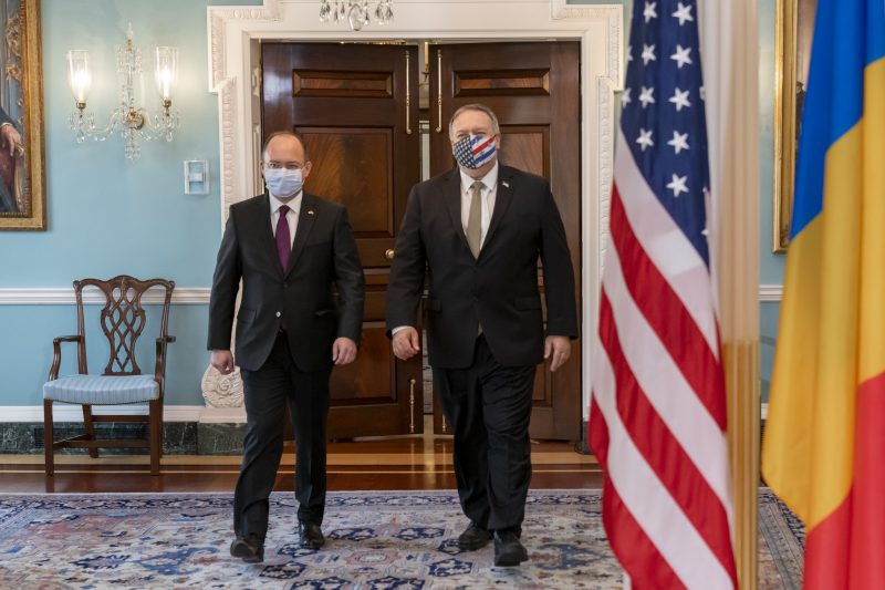 Bogdan Aurescu, întâlnire cu Mike Pompeo: Am evaluat realizările semnificative din cadrul parteneriatului strategic