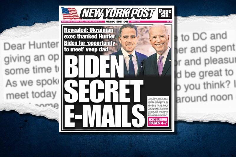 BREAKING: E-mailurile care confirmă că Hunter Biden s-a folosit de poziția lui Joe Biden pentru a obține bani de la oligarhi străini