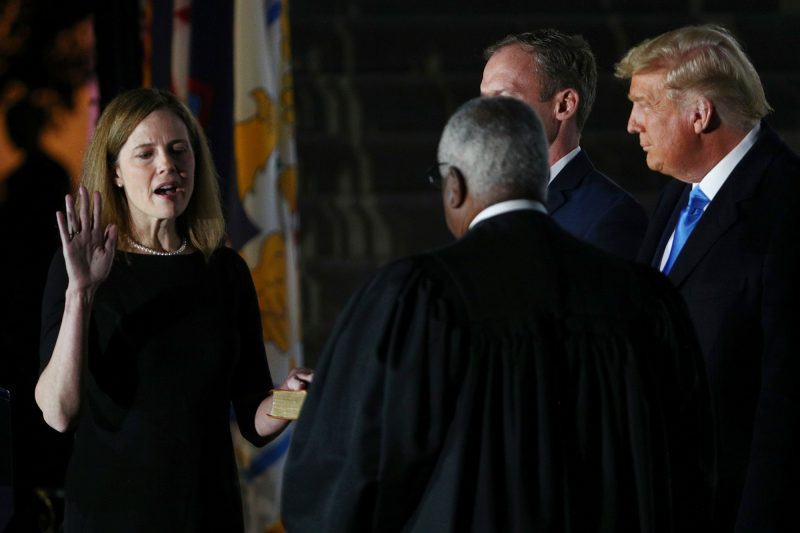 Breaking: Amy Coney Barrett, confirmată la Curtea Supremă SUA