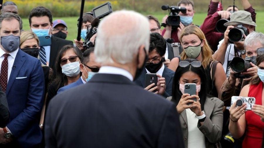 Felul în care mass-media îl caracterizează pe Joe Biden este absolut ireal
