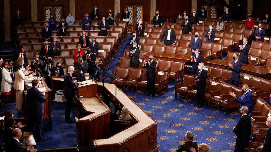 Biden și-a selectat audiența la discursul adresat Congresului, pentru a controla optica