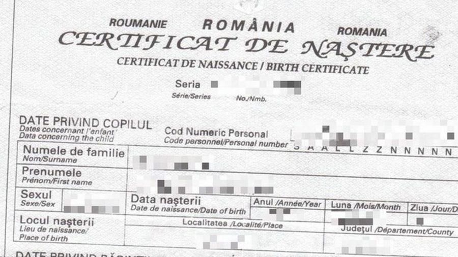 Informații consulare: Procedura de obținere a unui certificat de naștere românesc pentru copiii născuți în SUA