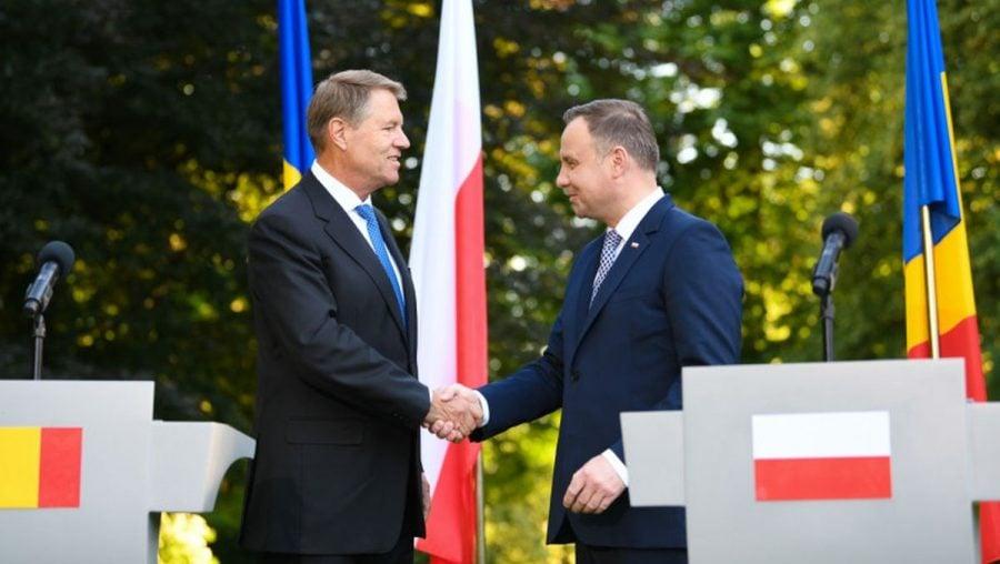 Preşedintele Poloniei, Andrzej Duda, în vizită oficială în România