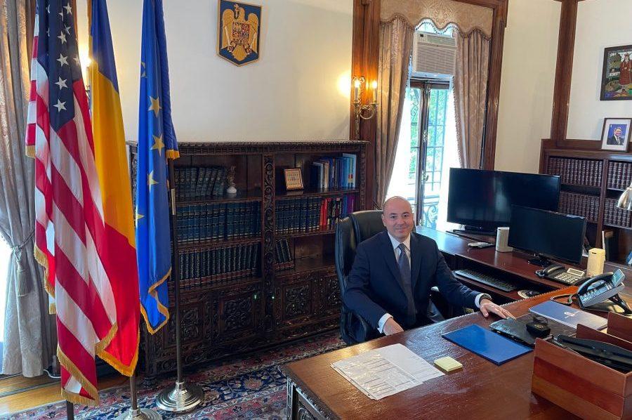 Redacția Tribuna Românească urează mult succes noului Ambasador al României în Statele Unite, Domnul Andrei Muraru