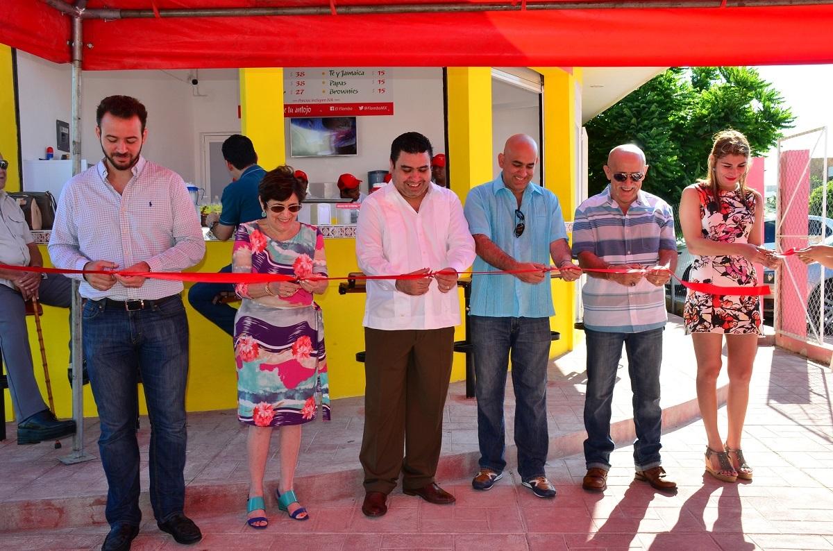 Inauguran nueva sucursal de Flambo - Tribuna Campeche