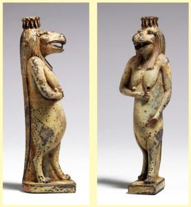Imatge de la deessa Tueris.