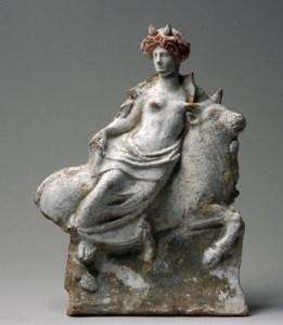 El rapte d'Europa, S. IV aC © Allard Pierson Museum, Amsterdam