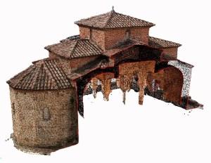 Model 3D de l'església de Sant Miquel de Terrassa (UDG, ICAC).