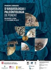 cartell-jornades-arqueologia-paloentologia-ponent-mitja