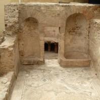 10. Vista del frigidarium de les termes Romanes de Sant Boi de Llobregat