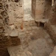 5. Vista del caldarium de les termes Romanes de Sant Boi de Llobregat