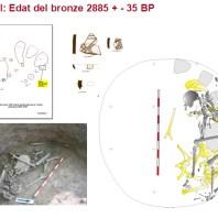 Fase de l'Edat del Bronze del jaciment del Serrat del Moros de la Codina. (Pinell, Solsonès)
