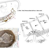 Fase de la primera Edat del Ferro /Ibèric antic del jaciment del Castellvell, (Olius, Solsonès)