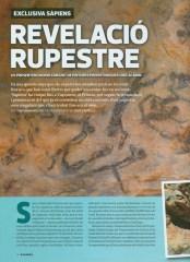 Núm. 175 de la revista Sàpiens, corresponent al mes de novembre de 2016, publica un extens article sobre les pintures rupestres de Capçanes (Priorat)