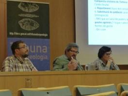 Sessió de la Tribuna d'Arqueologia del 14 de desembre de 2016. Fotografia: Joan Martínez