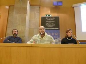 Sessió de la Tribuna d'Arqueologia 2016-2017. Els Conferenciants