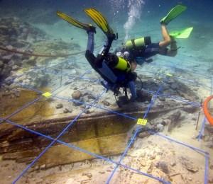 Imatge d'arqueologia subaquàtica