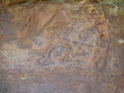 """Escena de la Vall II, coneguda com """"La matança"""", del conjunt de pintures rupestres de Capçanes"""
