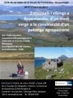 """Cartell del curs: """"Esquimals i víkings a Groelàndia: d'un medi verge a la construcció d'un paisatge agropastoral"""""""