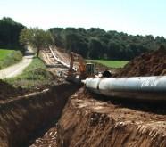 foto intervenció d'urgència al gasoducte-Martorell-Figueres