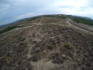 Vista general de la zona d'actuació abans de la intervenció