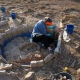 Treballs de consolidació i restauració del túmul TU-19