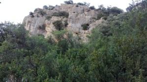 Foto 4. Vista de la Cova dels Tritons (Senterada, Pallars Jussà).