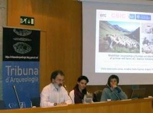Sessió de la Tribuna d'Arqueologia del 13 de desembre de 2017