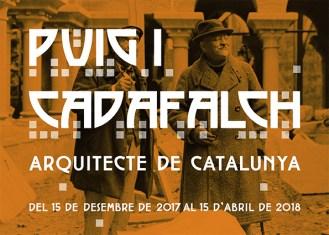 """Exposició """"Puig i Cadafalch. Arquitecte de Catalunya"""""""