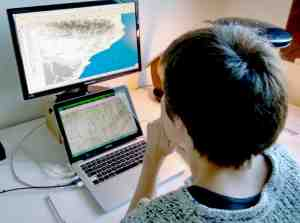 Treball de geolocalització dels jaciments estudiats