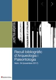 portada del recull bibliogràfic novembre 2017