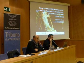 Sessió de la Tribuna d'Arqueologia del 7 de març de 2018