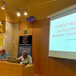 Sessió de la Tribuna d'Arqueologia del dia 30 de maig de 2018.