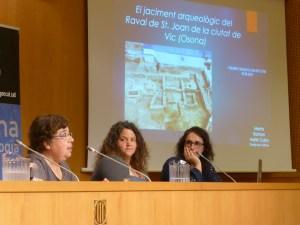Sessió de la Tribuna d'Arqueologia del dia 6 de juny de 2018.