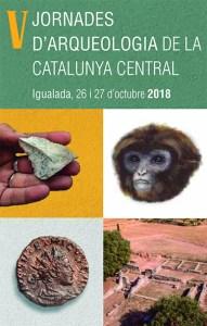 Cartell de les V Jornades d'Arqueologia de la Catalunya Central