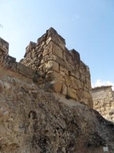 1. Torre tardoantiga del carrer de la Torreta. Fotografia: Servei d'Arqueologia i Paleontologia